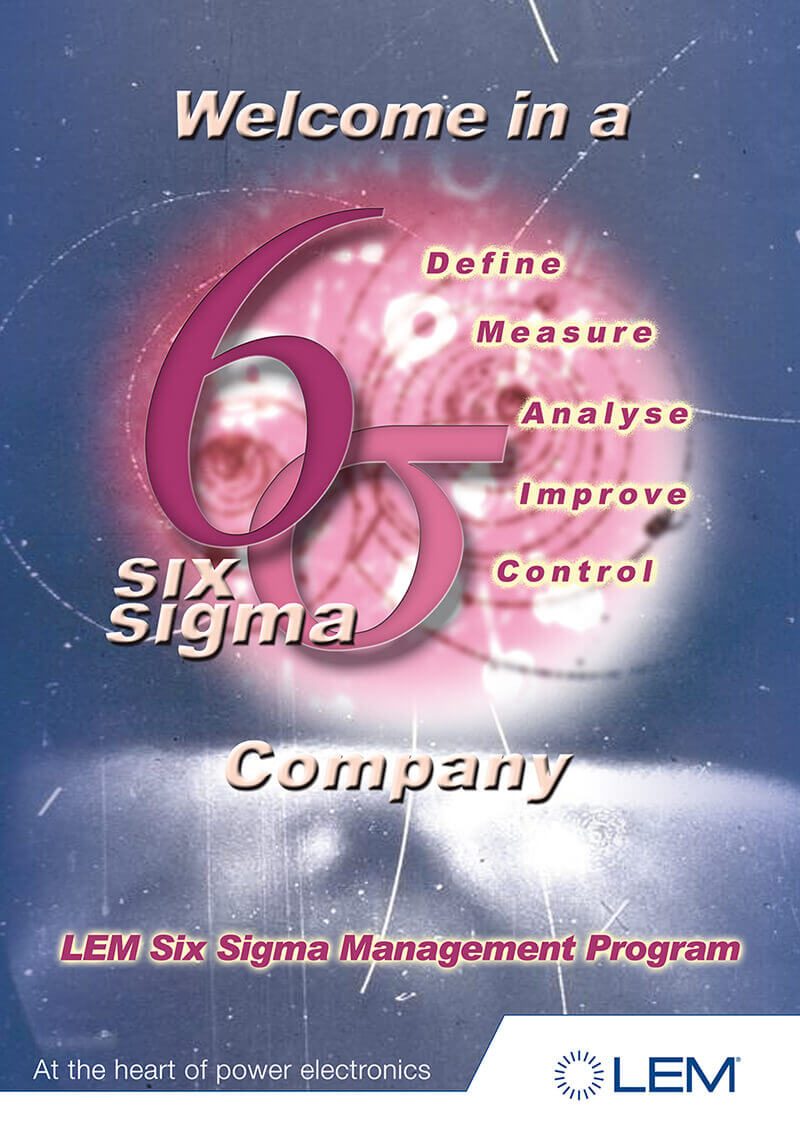 six sigma poster