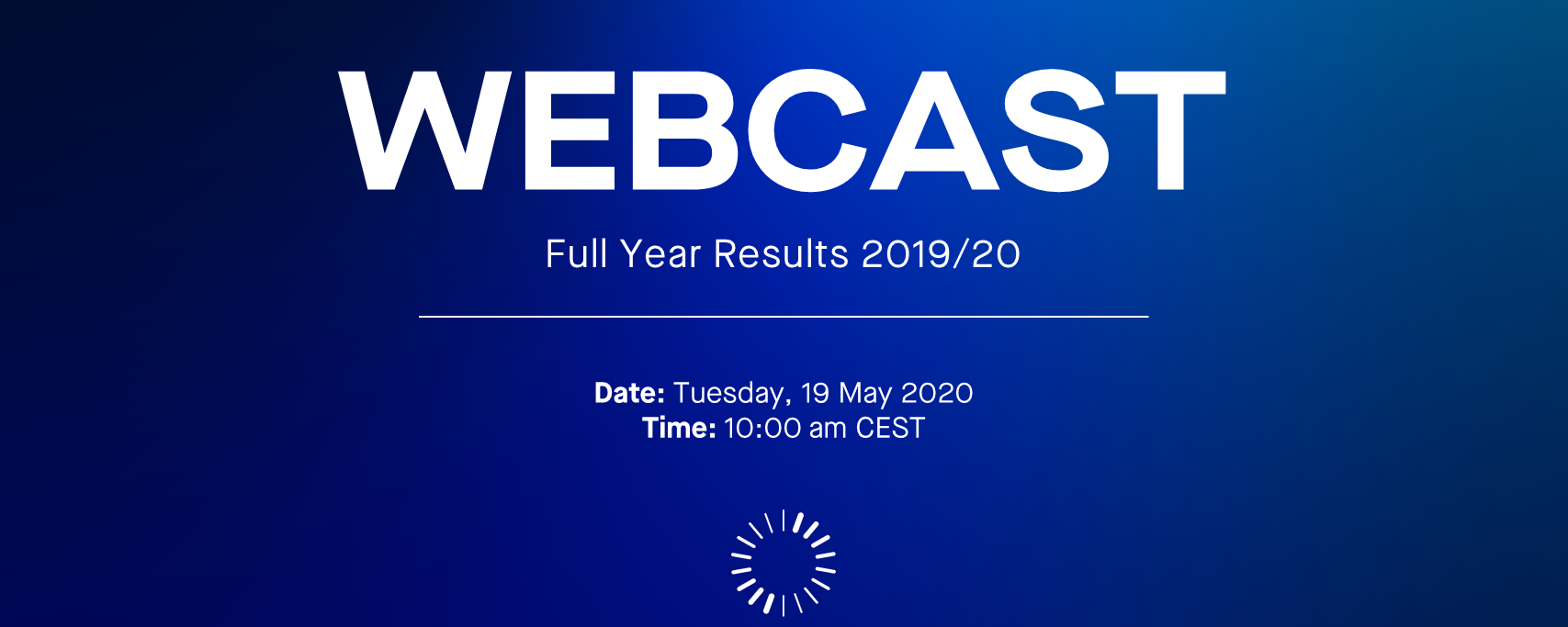 Webcast FY 2019-20