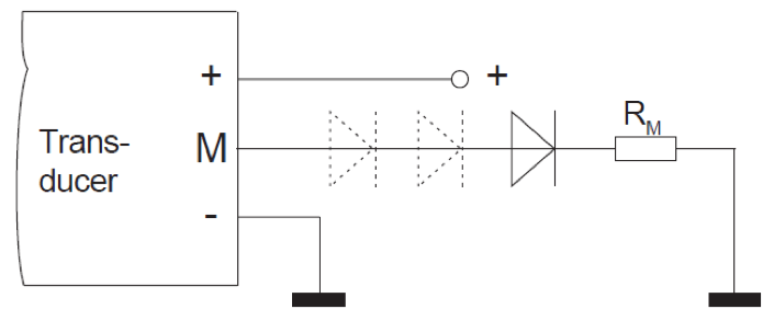Transducers with a unipolar power